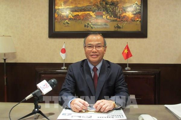 Đại sứ Vũ Hồng Nam đánh giá cao quan hệ hợp tác Việt Nam - Nhật Bản