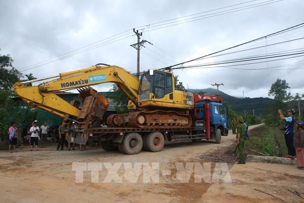 Công điện về cứu nạn trong vụ sạt lở đất tại Tiểu khu 67 và khu vực Thủy điện Rào Trăng 3