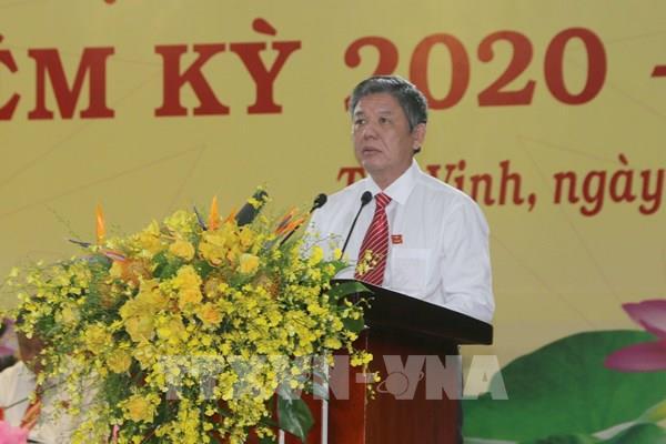 Đồng chí Ngô Chí Cường được bầu giữ chức Bí thư Tỉnh ủy Trà Vinh
