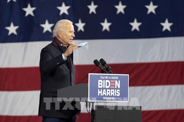 Ứng cử viên Joe Biden vượt Tổng thống Trump về tỷ lệ ủng hộ tại Michigan và Pennsylvania
