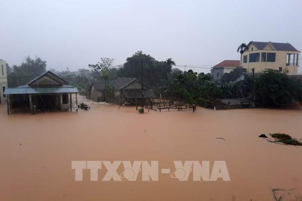 Công điện về tập trung ứng phó mưa lũ tại các tỉnh miền Trung