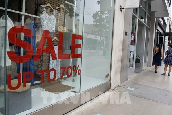 Mỹ: Doanh số bán lẻ tháng 9/2020 cao hơn dự kiến