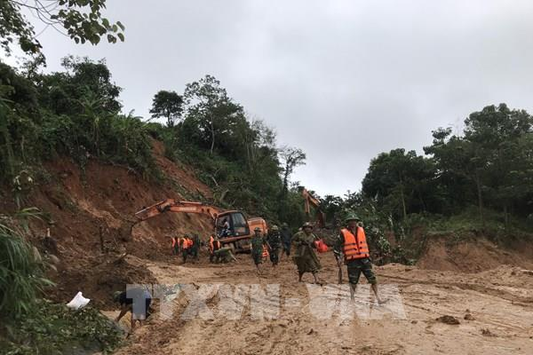 Quảng Trị: 7 người trong Đội cứu hộ xã Hướng Việt, huyện Hướng Hóa gặp nạn