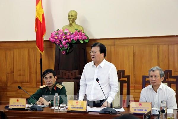Phó Thủ tướng Trịnh Đình Dũng: Chủ động các phương án với mọi loại hình thiên tai