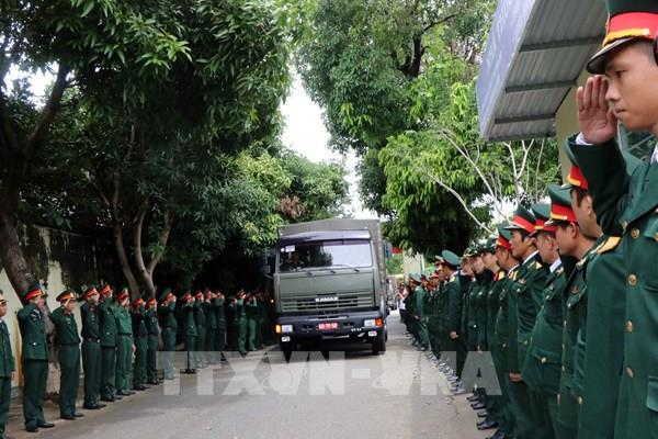 Lễ tang 13 đồng chí hy sinh khi cứu hộ, cứu nạn tại Thủy điện Rào Trăng 3