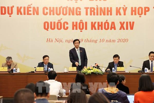 Kỳ họp thứ 10, Quốc hội khóa XIV diễn ra trong 19 ngày