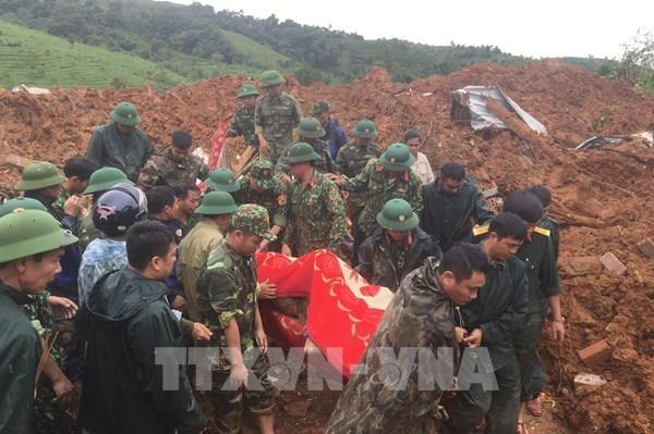 Sạt lở đất ở Hướng Hóa - Quảng Trị: 40 giờ nỗ lực tìm kiếm 22 nạn nhân