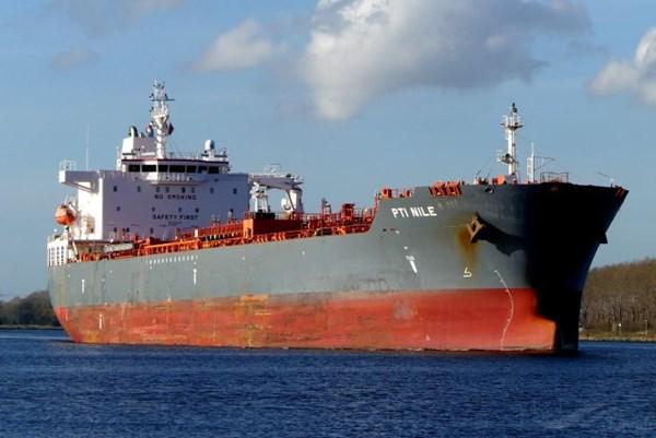 Tàu chở dầu Hong Kong (Trung Quốc) bị tấn công ngoài khơi bờ biển Togo