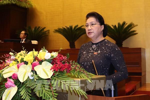 Bài phát biểu của Chủ tịch Quốc hội khai mạc Kỳ họp thứ 10, Quốc hội Khóa XIV