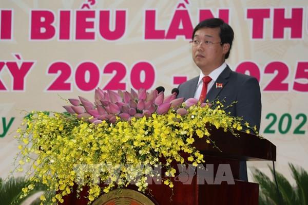 Đồng chí Lê Quốc Phong được bầu giữ chức Bí thư Tỉnh ủy Đồng Tháp