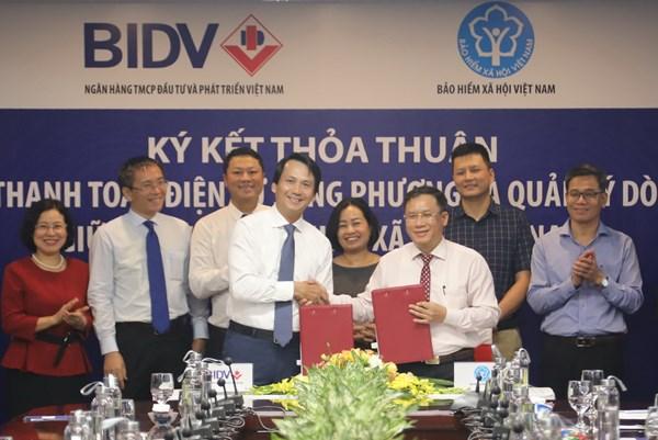 Kết nối quản lý dòng tiền giữa hệ thống Bảo hiểm Xã hội Việt Nam và BIDV