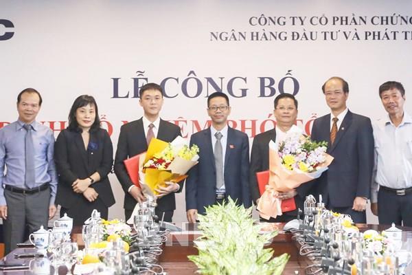 BSC bổ nhiệm 2 Phó Tổng Giám đốc mới
