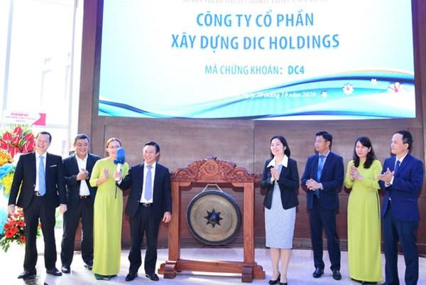 Cổ phiếu Công ty cổ phần Xây dựng DIC Holdings chính thức giao dịch trên HOSE