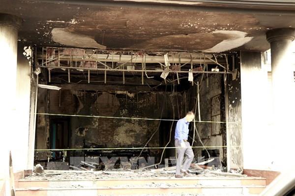 Cháy trụ sở Công ty Bảo Minh Yên Bái