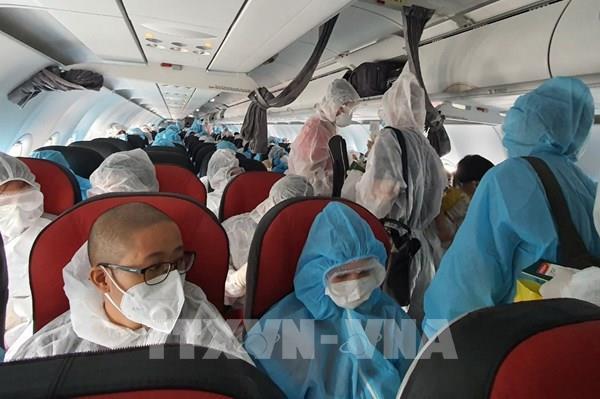 Dịch COVID-19: Đưa gần 450công dân Việt Nam từ Hàn Quốc về nước