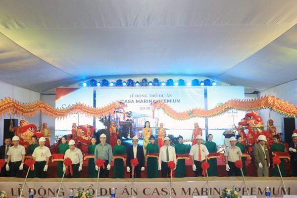 Chính thức động thổ dự án Casa Marina Premium