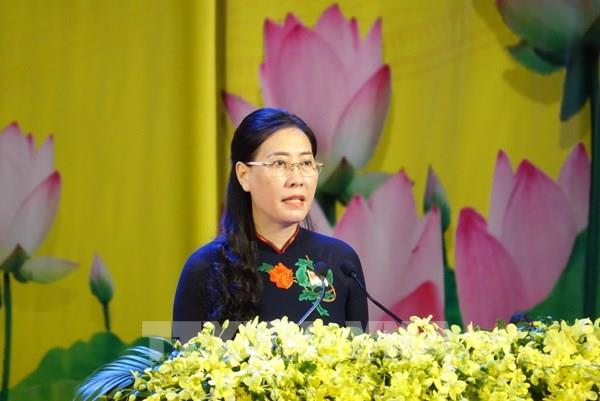 Đồng chí Bùi Thị Quỳnh Vân được bầu giữ chức Bí thư Tỉnh ủy Quảng Ngãi