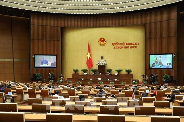 Kỳ họp thứ 10, Quốc hội khóa XIV: Vì mục tiêu cải thiện chất lượng môi trường