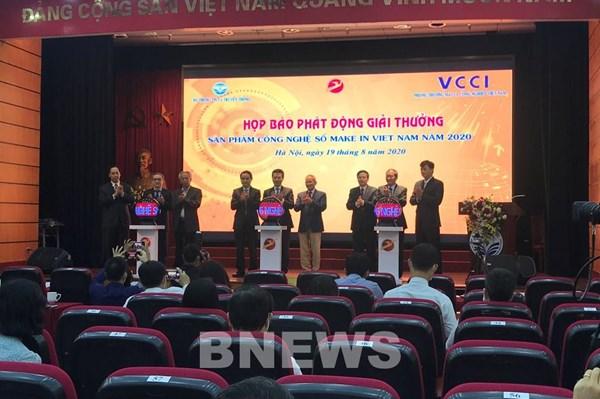 """239 sản phẩm dự thi Giải thưởng """"Sản phẩm công nghệ số Make in Vietnam"""""""