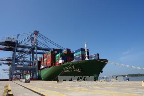 """Việt Nam sắp đón """"siêu tàu"""" chở container lớn nhất thế giới"""