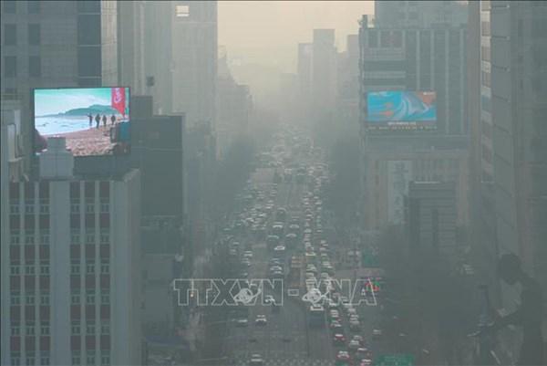 Hàn Quốc: Thành phố Seoul ra khuyến cáo đầu tiên về bụi mịn trong mùa Thu