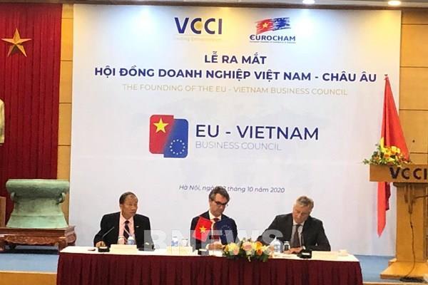Ra mắt Hội đồng doanh nghiệp Việt Nam - châu Âu