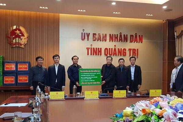 Tập đoàn Masan ủng hộ nhu yếu phẩm cho đồng bào miền Trung
