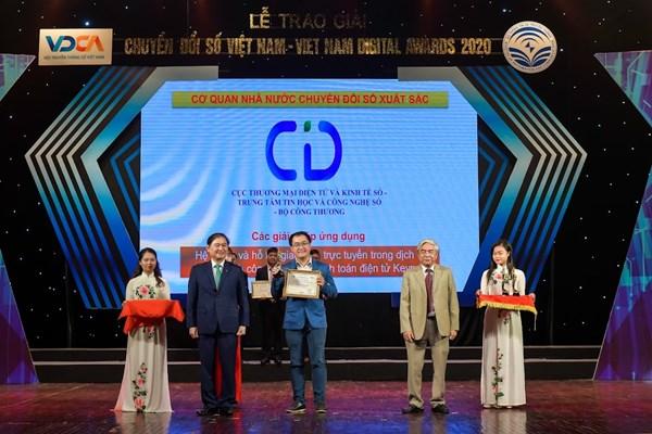 Hệ thống Hỗ trợ giao dịch trực tuyến KeyPay đạt giải Chuyển đổi số Việt Nam 2020