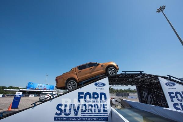 Ford Việt Nam tổ chức chuỗi sự kiện lái thử Ford SUV Drive 2020
