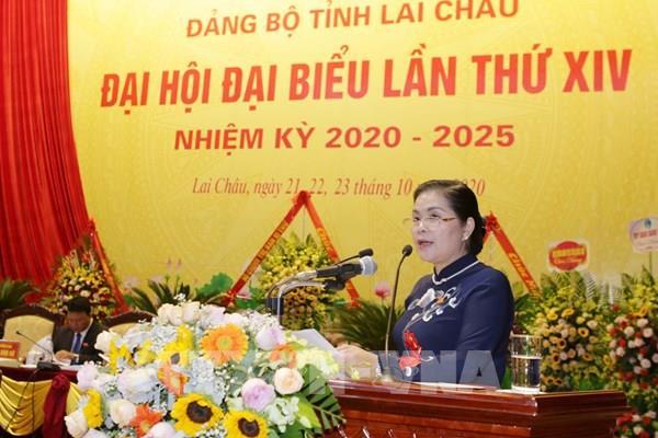 Đồng chí Giàng Páo Mỷ tiếp tục giữ chức Bí thư Tỉnh ủy Lai Châu