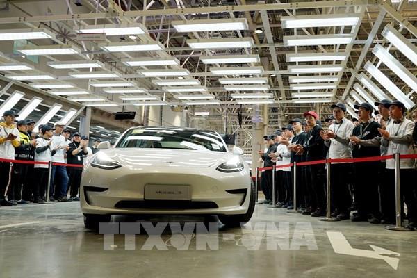 Tesla (Mỹ) sẽ xuất khẩu ô tô sản xuất tại Trung Quốc sang châu Âu