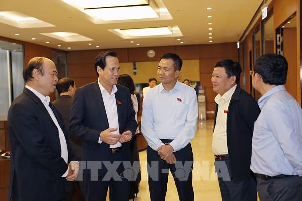 Quốc hội thảo luận về dự thảo Luật Người lao động Việt Nam đi làm việc ở nước ngoài