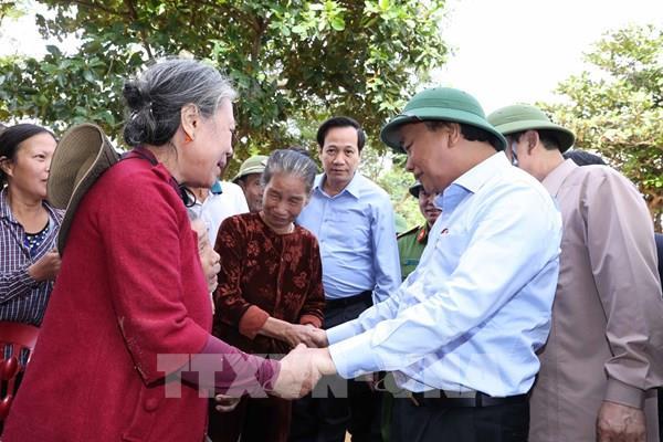 Thủ tướng: Tạo điều kiện cho hoạt động tài trợ nhân dân vùng lũ
