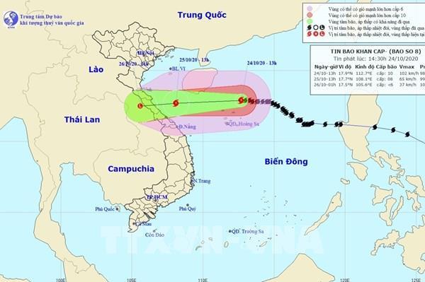 Áp thấp nhiệt đới mới có thể mạnh lên thành bão, ảnh hưởng tới Trung Bộ