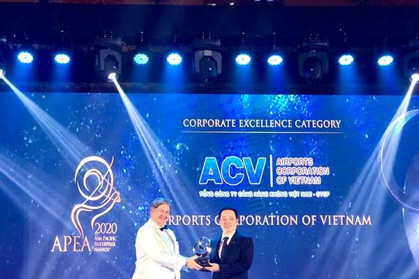ACV lần thứ 3 liên tiếp được vinh danh Doanh nghiệp Việt Nam xuất sắc châu Á