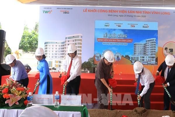 Khởi công xây dựng Bệnh viện chuyên khoa sản, nhi đầu tiên tại Vĩnh Long