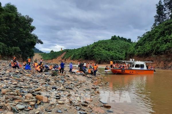 Tạm dừng tìm kiếm các nạn nhân bị mất tích tại Thuỷ điện Rào Trăng 3