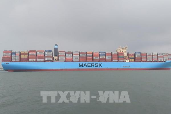 Bà Rịa – Vũng Tàu đón tàu container lớn nhất thế giới