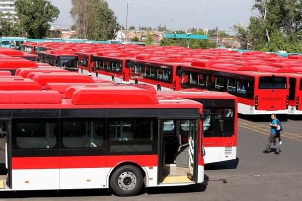 Trung Quốc có đến 60% xe buýt chạy bằng điện