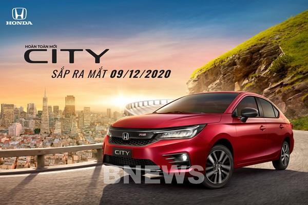 Honda City thế hệ thứ 5 nhiều nâng cấp sẽ ra mắt thị trường Việt cuối năm nay