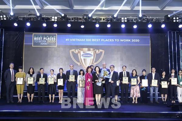 Vinamilk năm thứ 3 liên tiếp được bình chọn là nơi làm việc tốt nhất Việt Nam