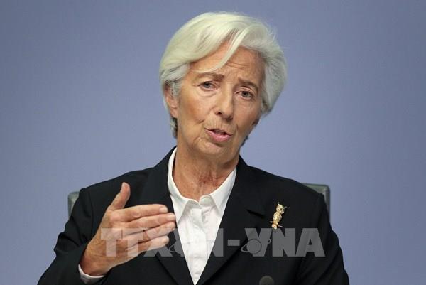 """Cuộc """"thử lửa"""" bà C.Lagarde tại ECB"""
