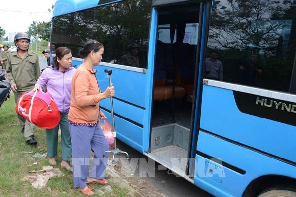 Ứng phó với bão số 9: Đà Nẵng khẩn trương sơ tán người dân