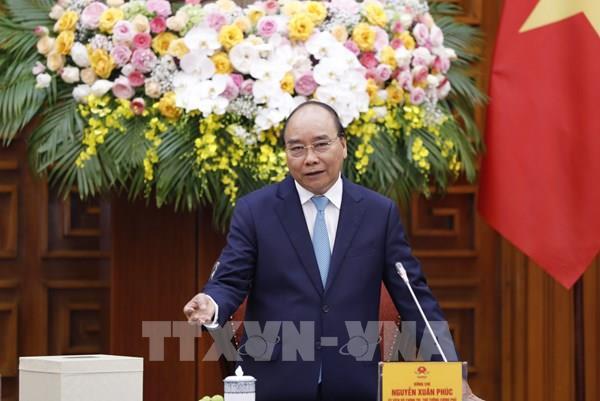 ThủtướngNguyễnXuân Phúc tiếp Hội Quy hoạch Phát triển đô thị Việt Nam
