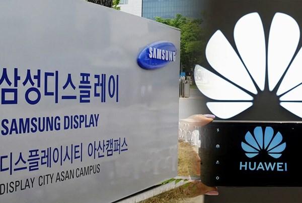 Samsung Display được Mỹ cấp phép xuất khẩu tấm nền màn hình cho Huawei