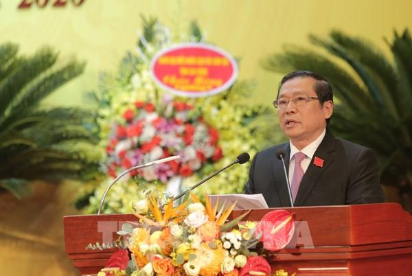 Đồng chí Lại Xuân Môn tái đắc cử Bí thư Tỉnh ủy Cao Bằng khóa XVIII