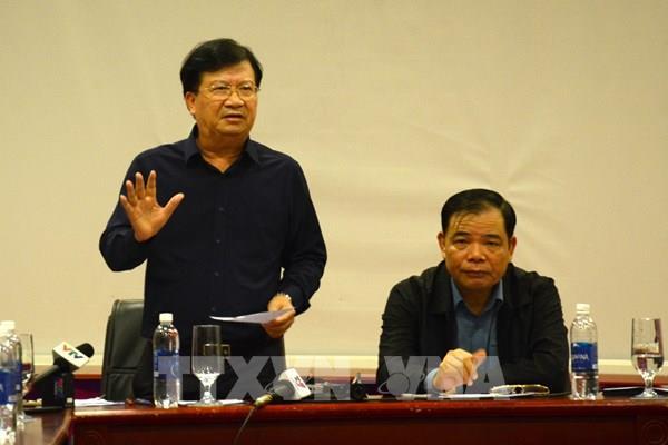 Phó Thủ tướng Trịnh Đình Dũng chỉ đạo 5 nhiệm vụ cấp bách sau bão