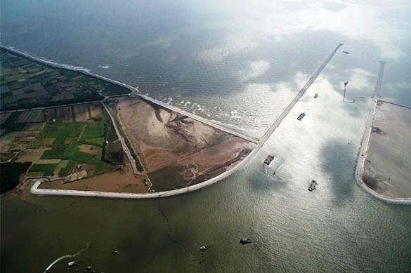 Vì sao dự án kênh nối đáy Ninh Cơ (Nam Định) chậm tìm được nhà thầu?