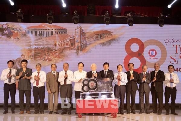 Tuildonai kỷ niệm 80 năm thành lập