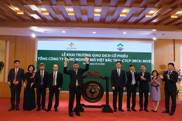Cổ phiếu Tổng công ty Mỏ Việt Bắc TKV- CTCP chính thức niêm yết tại HNX